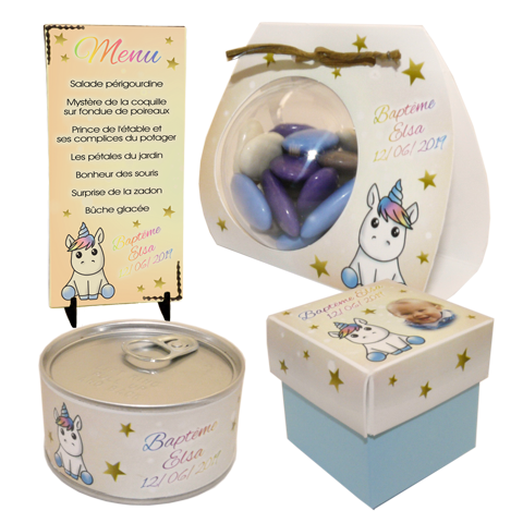 Collection BEBE LICORNE