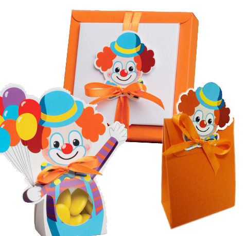 Collection  clown cirque