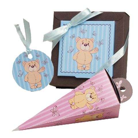 Collection ourson rose et bleu