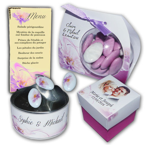 Collection FLEUR VIOLETTE