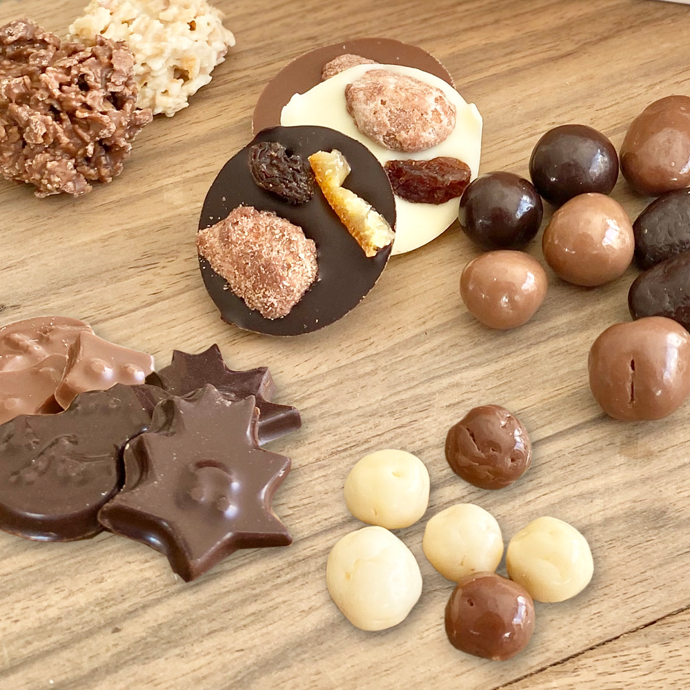 Mélanges chocolats