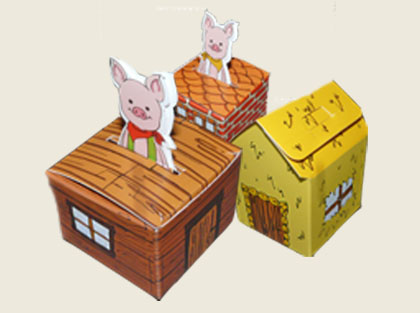 Collection 3 petits cochons
